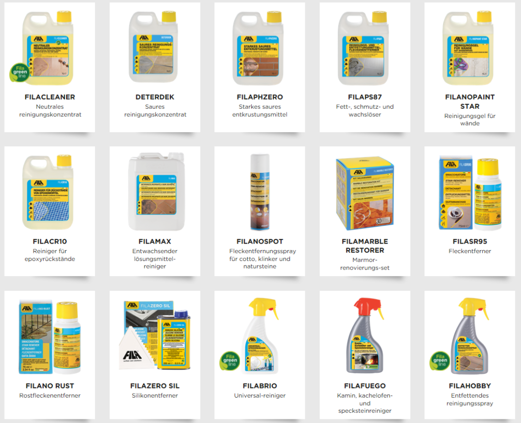 Fila Produkte